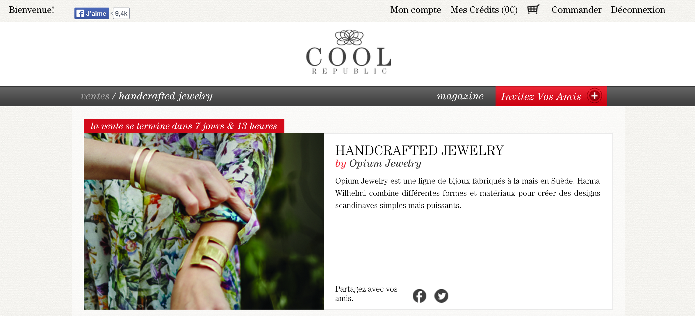 opium jewelry at cool republic