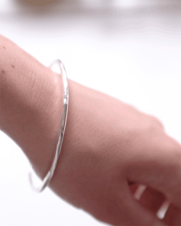 thin bangle by opium jewelry